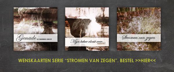 Wenskaarten: Stromen Van Zegen